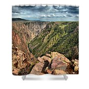 Edge Of The Black Canyon Shower Curtain