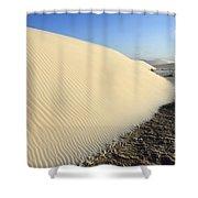 Edge Of The Dune Brazil Shower Curtain