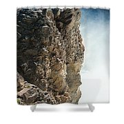 Edge Of The Upper Falls Shower Curtain