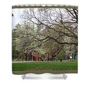 Edgewood Park New Haven Connecticut Shower Curtain