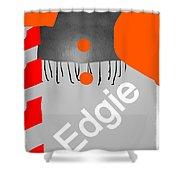 Edgie#3 Shower Curtain