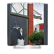 Edibles And Spirits Shower Curtain