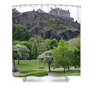 Edinburgh Castle 6493 Shower Curtain