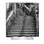 Edinburgh Steps Shower Curtain