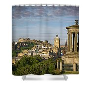 Edinburgh Sunrise Shower Curtain