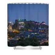 Edinburgh Twilight Shower Curtain