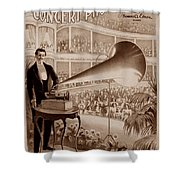 Edison 1 Shower Curtain by Andrew Fare
