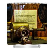 Edison Foil Phonograph Shower Curtain