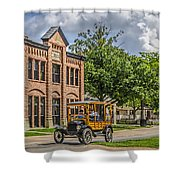 Edison Model T Ford Shower Curtain
