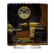 Edison Record And Equipment Shower Curtain