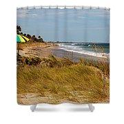 Edisto Beach By Jan Marvin Shower Curtain