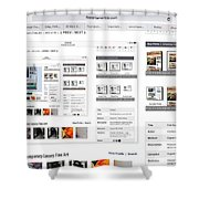 Visitors Hi Edit Keyword Search Untitled Shower Curtain