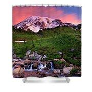 Edith Creek Sunrise Shower Curtain