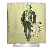 Edmond Rostand (1868-1918) Shower Curtain