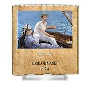 Edouard Manet 4 Shower Curtain