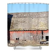 Eduring Time Shower Curtain