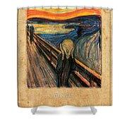 Edvard Munch 1 Shower Curtain