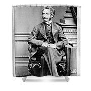 Edward Bulwer Lytton (1803-1873) Shower Curtain