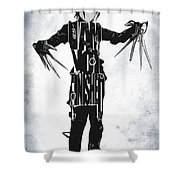 Edward Scissorhands - Johnny Depp Shower Curtain
