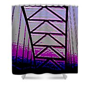 Effervescent Two Shower Curtain