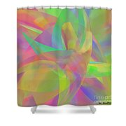 Effortless Shower Curtain by ME Kozdron