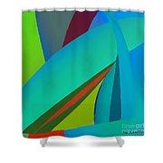 Effulgence Shower Curtain by ME Kozdron