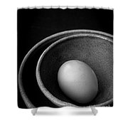 Egg Open Edition Shower Curtain