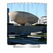 Egg Performing Arts Venue Shower Curtain