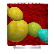 Eggish  Shower Curtain