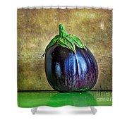 Eggplant Shower Curtain