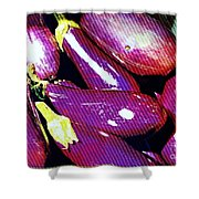Eggplants Are Beautiful Works Of Art Shower Curtain