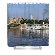 Egypt - Nile Steamboat Shower Curtain