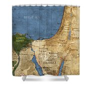 Egypt And The Holy Land Shower Curtain