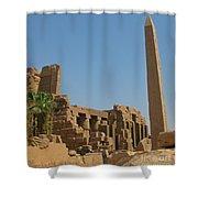 Egyptian Obelisk Shower Curtain