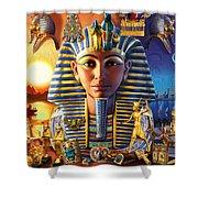 Egyptian Treasures II Shower Curtain