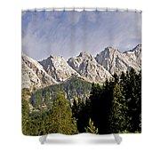 Eibsee Bavaria Germany Shower Curtain