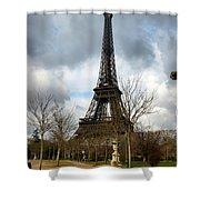 Eifel Tower Shower Curtain