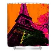 Eiffel 20130115v1 Shower Curtain