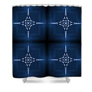 Eiffel Art 36a Shower Curtain