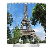 Eiffel Tower - 1 Shower Curtain