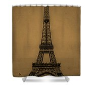 Eiffel Tower 1889 Shower Curtain by Andrew Fare
