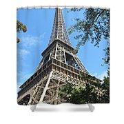 Eiffel Tower - 2 Shower Curtain