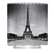 Eiffel Tower And Park 1909 Shower Curtain