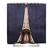 Eiffel Tower-1 Shower Curtain