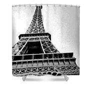 Eiffel Tower Up Close 3 Shower Curtain