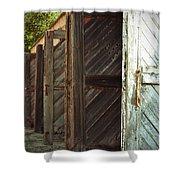 Eight Doors Shower Curtain