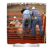 Rodeo Eight Seconds To Payday Shower Curtain