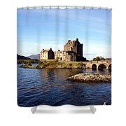 Eilean Donan Castle Kintail Scotland Shower Curtain