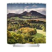 Eildon Hills   Shower Curtain