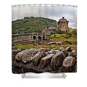 Eilean Donan Castle 1 Shower Curtain